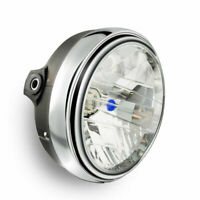 Round Chrome Halogen Headlight Lamp For Honda CB250 Hornet250 CB400 VTEC CB500