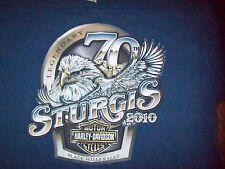MEN'S HARLEY DAVIDSON T-SHIRT SZ XL LEGENDARY STURGIS HILL CITY H-D S DAKOTA