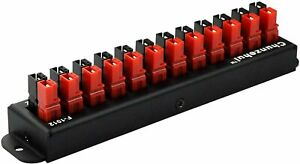 12-Position Power Distribution Block Module for Anderson Powerpole Connectors