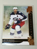 F37503 2019-20 UD Artifacts Gold /299 SETH JONES BLUE JACKETS