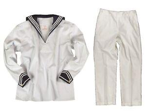 Original Bundeswehr Marine Bordhemd BW Marinehemd Klapphose Marinehose Matrose