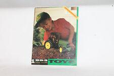 1993 ERTL TOYS JOHN DEERE FARM TRACTOR EQUIPMENT CATALOG, ORIGINAL