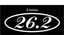 Marathon 26.2 - Car Decal / Sticker (Choose any color!) High Quality Vinyl