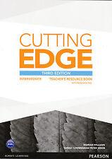 CUTTING EDGE Intermediate THIRD EDITION Teacher's Book with Resource Disc @NEW@