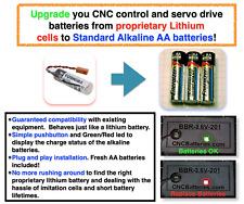 Upgrade to AA Mazak Fusion 640 Lithium Battery Toshiba ER6V 3.6V Fast US Ship!