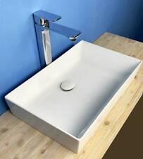 Lavabo Appoggio rettangolare NET cm 50,5 Alta qualità Made in Italy
