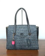 Damen-Shopper/- Umwelttaschen mit Innentasche (n) und Kroko-Prägung