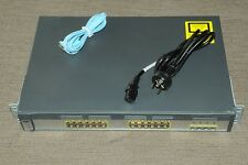Cisco WS-C3750G-24TS-S 24 Gigabit Port Layer 3 Switch Latest IOS 122-55.SE12