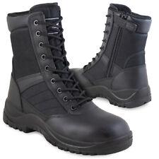 Magnum Centurion 8.0 Side-Zip Police Security Tactical Cadet Work Boots Black