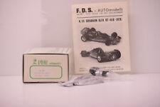 KIT BRABHAM ALFA ROMEO BT46B GP SUISSE 1978 N. LAUDA FDS 1/43 NEUF BOITE REF 68
