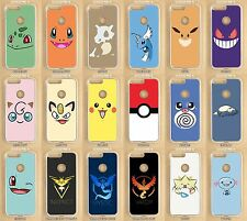 Google Pixel, Pixel XL, Pixel 2, Pixel XL2, Pokemon Custom Made Clear Phone Case