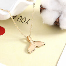 Animal Jewellery Chain Fashion gift Dainty Mermaid Tail Pendant Necklace Women