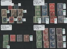 ESTONIA: 1920-1939 Collection of Used & Unused Examples - 8 Stock Cards (32440)
