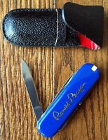 President Ronald W. Reagan Presidential Seal White House Issued Gift Knife