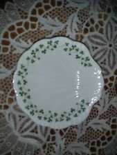 Royal Tara Shamrock Shell Shaped White Porcelain Candy Nut Soap Dish Ireland