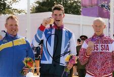 Peter Wilson Firmada A Mano Gran Bretaña Londres 2012 Olimpiadas 6x4 Foto 3.