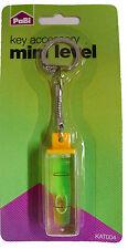 Key accessory Mini Spirit Level Keyring Key Ring Key Chain Tool Bulk Clearance