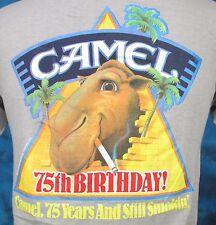 NOS vintage 80s CAMEL CIGARETTES POCKET T-Shirt SMALL gt racing tobacco thin