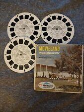 Movieland Wax Museum A 234 View Master Sawyer's 3 Reel Set
