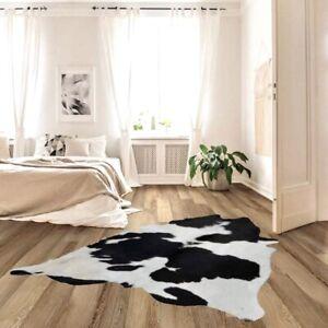 "New Cowhide Rug Cow hide Rug Area Rug Carpet Leather Rug (54""x 51"")-P18"
