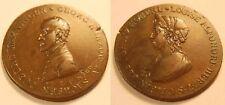 1 Taler Échantillon de cuivre 1812 Saxe Meiningen 1 Konventionstaler espèces ou