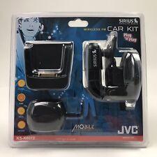 JVC Mobile Entertainment Wireless FM Car Kit for SIRIUS Satellite Radio KS-K6012