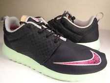 Nike Rosherun FB 2013 Yeezy Black Pink Mint Chrome Volt SZ 9.5 (580573-063)