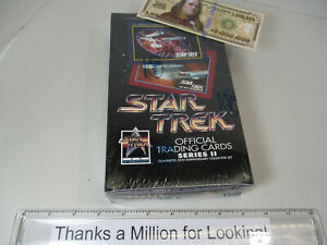 Vintage STAR TREK Official Trading Cards, Card Set, Packs, Sealed Box, NEW, NOS