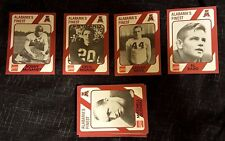 1989 Alabama Football Cards Collegiate Collection Coke Variety of 110 Cards Mint