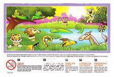 Komplettsatz Wechseltiere Girls SE553 - SE553A aus Indien mit 2 BPZ