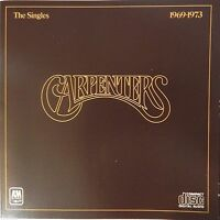 Carpenters - The Singles 1969-1973 (CD A&M Records) VG++ 9/10