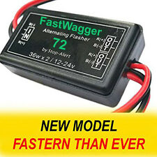 Alternating Wig Wag Electronic FastWagger 72 LED Flasher Relay Emergency Police