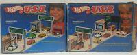 Vintage Mattel Hot Wheels USA Starter Set 1 & 2, 1981 No. 5054 Original Box