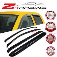 For 05-12 Nissan Pathfinder Vent Shade Guard Window Visors Deflector Smoke 4PC