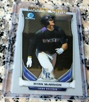 RYAN MCMAHON 2014 Bowman CHROME Prospect Rookie Card RC Rockies HR Power HOT $$$
