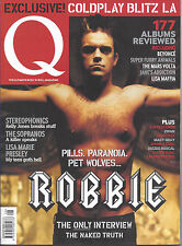 Q magazine - Aug 03 -Robbie Williams,Zwan, Beyonce, Jane's Addiction,Johnny Cash
