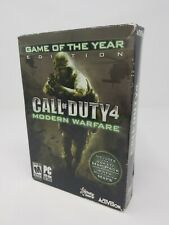 Call of Duty 4: Modern Warfare - Game of the Year Edition PC,  USA version New