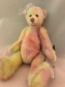 Russ Mohair Collection Bear Zoe