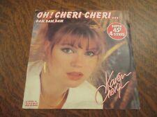 45 tours KAREN CHERYL 4 titres oh! cheri cheri...
