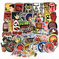 52 Stickers Lot Rock Band Punk Music Heavy Metal Bands Laptop Car Bumper Sticker