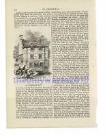Brackenbury House, Portland, Dorset, Book Illustration (Print), 1861