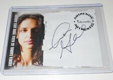 LOST REVELATIONS AUTOGRAPH CARD #A5 ANDREA GABRIEL (The Twilight Saga)