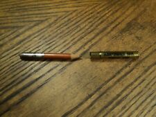 Vintage Bullet Lead Pencil Advertising  Schoppenhorst Bros. Funeral Home