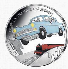 Monnaie-Harry Potter et la Chambre des Secrets- 2021-10 euros- Argent-Colorisée