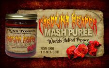 CAROLINA REAPER PUREE, MASH, worlds hottest pepper, XXX HOT, Hottest you can get