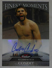 Carlos Condit Signed UFC 120 2011 Topps Finest Moments Card #CC /188 Autograph