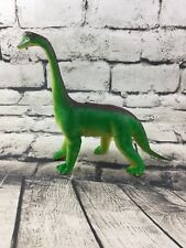 Vintage Dinosaur Toy Imperial 1985 Brachiosaurus Green Yellow