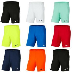 Nike Mens Shorts Park III Sports Training Running Football Short Dri-FIT Size