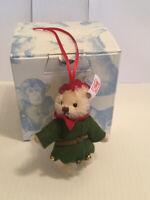 Steiff 036729 Teddy Santas Elf Ornament, OVP
