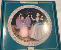 Disney's Cinderella 1950  Animated Classics 3D Plate W/ Original Box